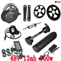 BBS02 Bafang 48V 750W C965 mid drive electric motor kit with...