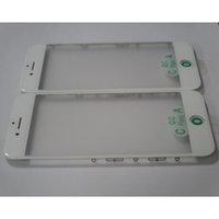 IPhone 7 7 için orijinal 7 splus Kırık cam Meclisi Soğuk Basın LCD Dış Ön Cam + Çerçeve Çerçeve + OCA Filmi