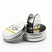 Nk reales freies Verschiffen elektrischer Heizungswiderstanddraht 100ft 0.5 Flachbandzerstäuberdick für ecig prebuild Spule