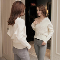 Elegant Winter Women Sweaters Knitted Pullovers Fashion Casu...