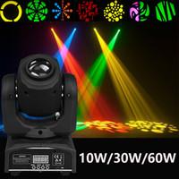 60W llevó la luz principal móvil del punto 8 luz del disco del arco iris del gobo para el concierto en vivo del banquete de boda de la iglesia de DJ