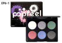 HOT2018 Nouvelle Marque POPFEEL 6 Couleur Maquillage Mat Yeux Mains Fard À Paupières Palette Mini Maquillage Palettes Pigment Maquillage Outils 3 Styles