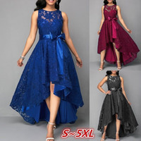 Women Formal Long Lace Dress Prom Evening Party Cocktail Bri...