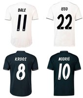 Real Madrid Soccer Jersey 18 19 BALE MODRIC ISCO ASENSIO RAM...