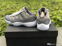 Limited 2019 11 Low Cool Grey 11S Basketball Shoes Sneakers ...