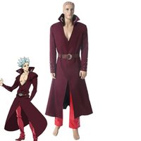 Anime The Seven Deadly Sins Uniform Ban Japanese Cosplay Cos...