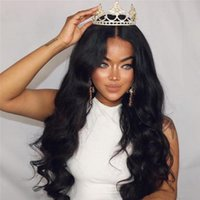 Brazilian Body Wave Full Lace Human Hair Wigs For Black Wome...