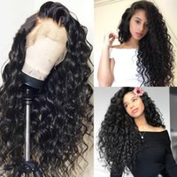 Top 9A Grade 150% Density Curly Lace Front Human Hair Wigs F...