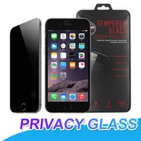 For iPhone X 7 8 Tempered Glass Screen Protector Privacy Scr...