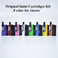 Authentic imini Thick Oil Cartridges Kits 500mAh Box Mod Bat...