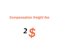 Extra shiping cost   Compensation Freight Fee for order   re...