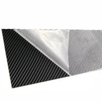 Funda Kydex K Tablero termoplástico Importado de América Sarga de serpiente de fibra de carbono 300 mm