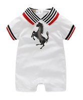 Brand New Baby Clothing Short Sleeves Suit Rainbow Stripe Co...