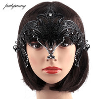 1Pcs Female Halloween Cosplay Masquerade Party Masks Party Q...