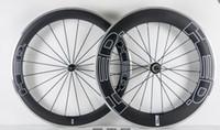 Hed carbon wheels 60mm Alloy Aluminum Brake Rear 80mm Clincher wheels racing Road Wheelset clincher R36 Racing Wheels