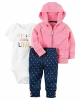 Spring Autumn Baby Romper Set 3 PCs Romper Jacket Trouser 5 ...