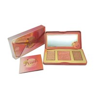NEW HOT Makeup Faced Sweet Peach Glow 3 Color Blush Powder B...