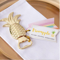 Wedding Favors Gifts Gold Metal Pineapple Beer Bottle Opener...