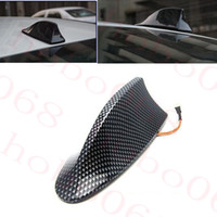 1 قطع لأي bmw سيارة ألياف الكربون اللون الهوائي إشارة الديكور القرش زعانف استبدال سقف ملصقا 170 * 75 * 60 ملليمتر