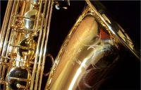 Yeni YANAGISAWA T-902 Saksafon Tenor Destek Profesyonel Yaldız Kaplama ve Cila Altın Tenor Saksafon Sax aksesuarları ile