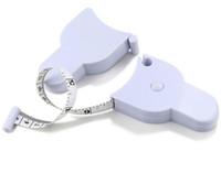 Misuratore di peso corporeo accurato per il corpo Misuratore di nastro per il corpo 1,5m 60 '' Mini nastro di misura bianco all'ingrosso