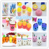 Squishy Pegasus Unicorn Jumbo Mini Cartoon Slow Rebound Risi...