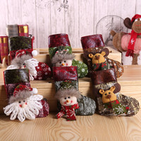 High Quality Santa Stockings Christmas Decorations Stocking ...