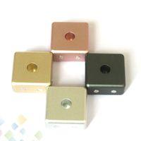 Magnetischer Zerstäuber-Metallunterseiten-Anzeigen-Aluminiumhalter-starker Magnet-Stand für 510 Atomizer E-Zigarette kein Schraubengewinde DHL geben frei