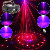 Mini 3 Len 24 RB Red Blue Patterns Projector Stage Equipment...
