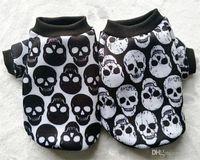 패션 개 의류 슈퍼 소프트 터치 애완 동물 스웨터 사랑스러운 의류 해골 농축 조끼 겨울 따뜻한 20sp7의 ZZ를 계속 공급