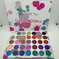 New Beauty Creations 35 Color Eyeshadow Splash Flash Powder ...