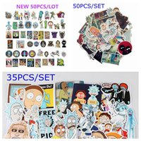 Hot- selling Rick and Morty Toy Sticker Multi Pattern Cartoon...