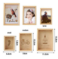 Famiglia Vintage Multi Photo Frame Online Home Decor Art Legno Matrimonio Mini Cornici Vintage Famiglia FAI DA TE Cornice Home Decor