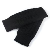 KANCOOLD kadın eldivenler Moda 1 Çifti Unisex Bay Tığ Örgü Kol Parmaksız Eldiven Yumuşak Kış Isınma Mitten İçin PSEPT1