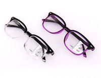 새로운 빈티지 스마트 프로 그레시브 다 초점 선행 안경 다기능 안경 이중 초점 안경 +100 ~ +300 디옵터