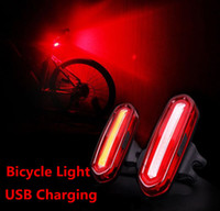 Bicycle light USB charging Lights Waterproof 3 Modes Bike Ta...