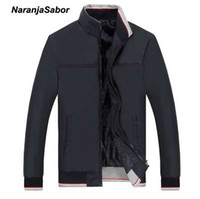 NaranjaSabor Spring Men's Jackets Men Casual Coats Men's Slim Windbreaker Clothing Male Baseball Coats Outwear 5XL