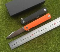 Coltello pieghevole Flipper Gentleman 2 9CR18MOV lama in acciaio G10 maniglia esterna da campeggio tasca coltello frutta utensili EDC