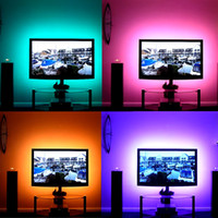 1 MT-5 MT DC 5 V RGB Flexible USB led Streifen Licht 5050 SMD sting IP20 Band Klebeband TV Hintergrund Beleuchtung