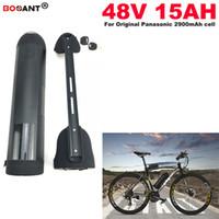 E-Bike Batería de iones de litio eléctrica 48v 15ah 1000W Batería de bicicleta eléctrica 13S 48V EU US Duty Free + 2A Charger Envío gratis