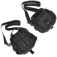 Tactical fanny pack 1000D nylon waterproof multi- use molle w...