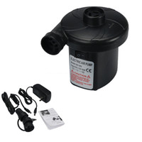 Electric 12V Car 240V Mains Air Bed Pump Inflator Deflator P...