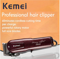 Kemei Rechargeable Shaver Barbershop Cordless Electric Shave...