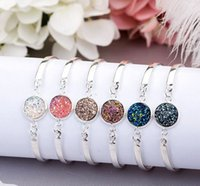 New arrival Selling silver heart bracelet multicolor crystal...