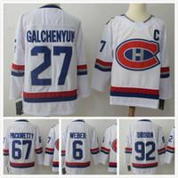 45025dc36 Nouvelle Arrive. Chandails de hockey sur glace pour hommes 2018 Montréal  100 Classique 31 Carey Prix 6 Shea Weber 92 Jonathan Drouin ...