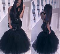 흑인 소녀 인어는 아프리카 댄스 파티 드레스 저녁 착용 플러스 사이즈 긴 섹시한 헛소리 가운 싸구려 파티 homecoming 드레스