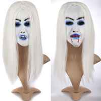 Event Party Masks Ghost Festival Halloween Mask Masquerade P...