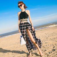 Sexy Bikinis Frauen Badeanzug Sommer Beachwear Spitze Schultergurte Bare Schultern Badebekleidung Schwarz
