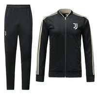 18 19 JUVENTUSING Soccer Jackets Adult Football Sweater Trou...