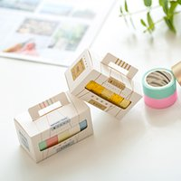 Tapes, Adhesives & Fasteners Hard-Working 20mm*7m Neon Light Signs Paper Washi Tape Rainbow Color Decoration Adhesive Masking Tapes Sticker Diary Stationery